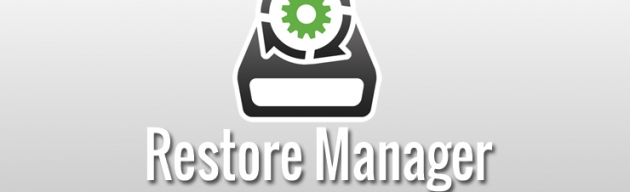 Restore Manager picture