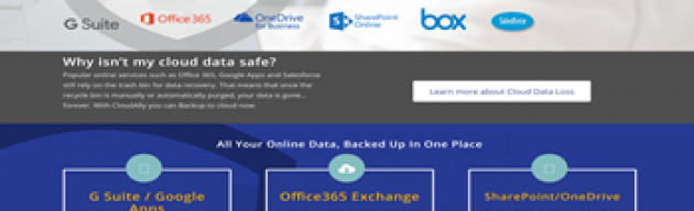 Cloud Backup: Office 365, SharePoint/OneDrive, G Suite, Box.com picture